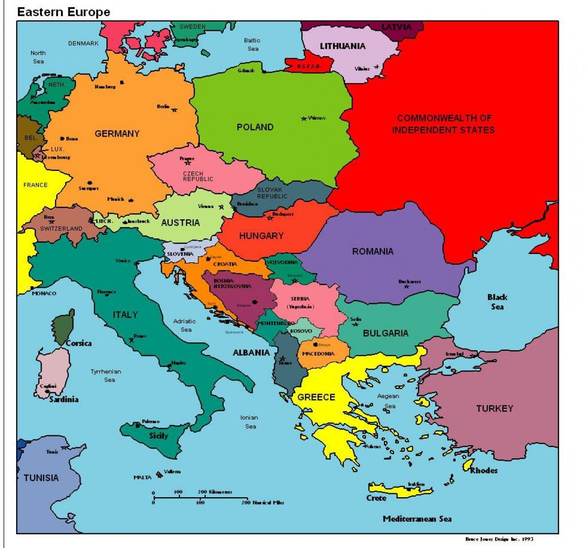Karte Von Europa.Albanien Landkarte Europa Karte Von Europa Zeigt Albanien